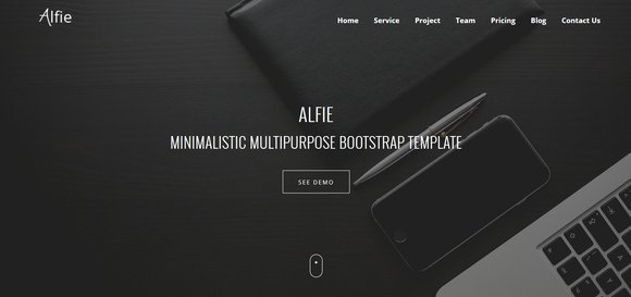 40 Best Free Bootstrap Website Templates 2016