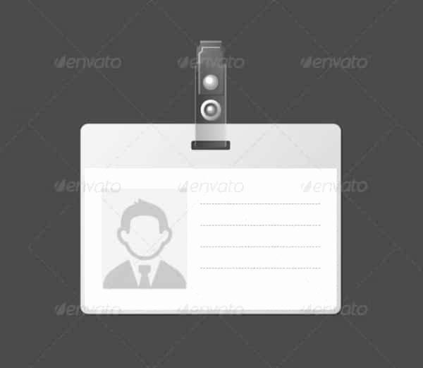 40 Blank Id Card Templates Psd Ai Vector Eps Doc