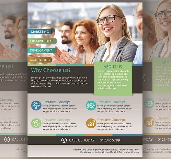 40 Business Flyer Templates Psd Ai
