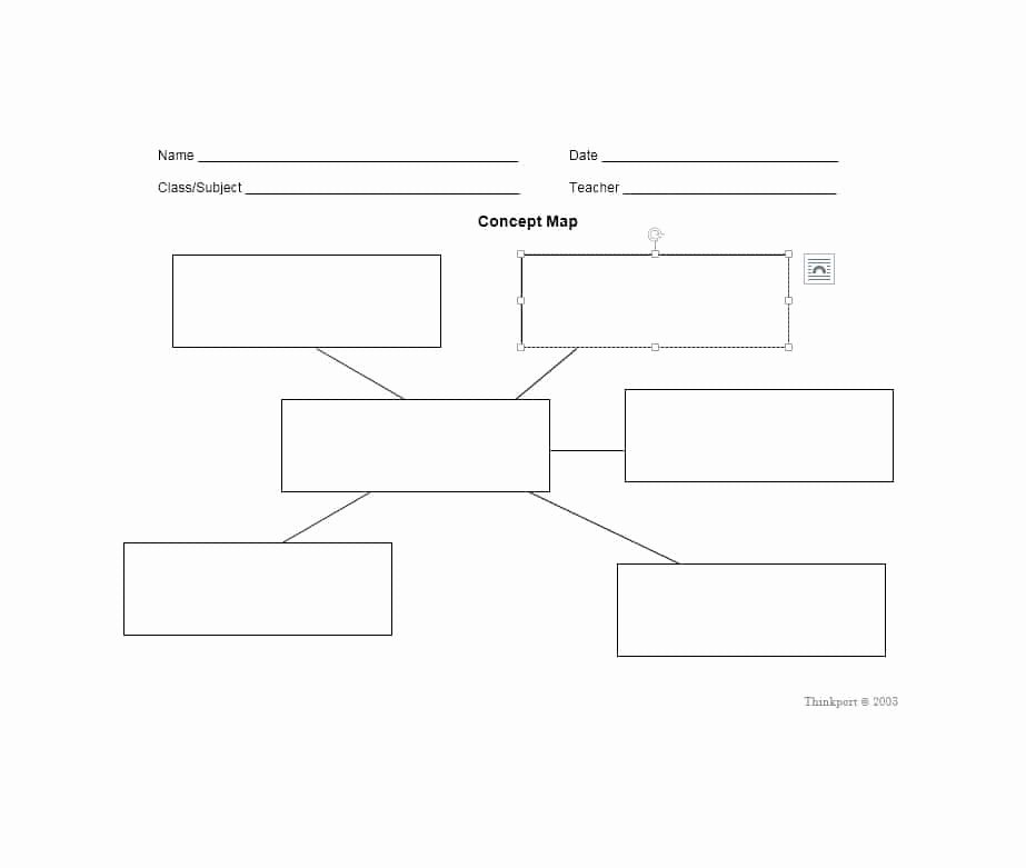 40 Concept Map Templates [hierarchical Spider Flowchart]
