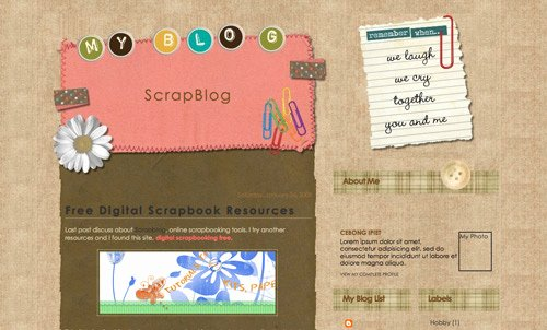 40 Free Beautiful Blogger Templates Part Iii Hongkiat