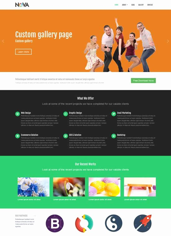 40 Free Bootstrap HTML5 Website Templates 2019