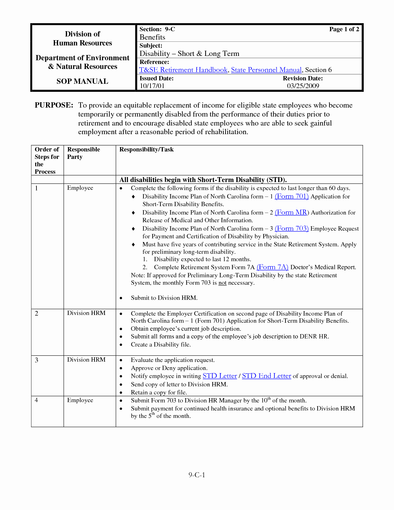 40 Free Fice Procedures Manual Template Policy and