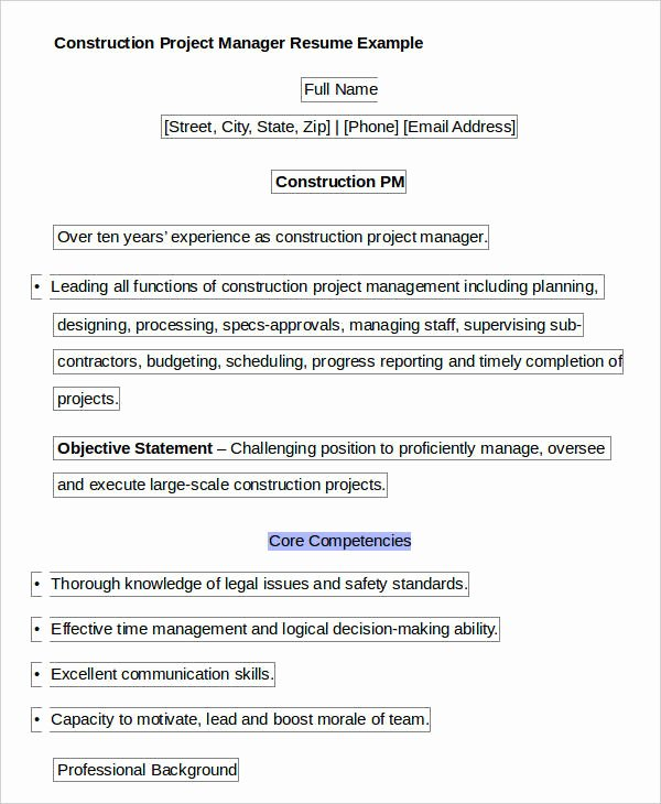 40 Free Manager Resume Templates Pdf Doc