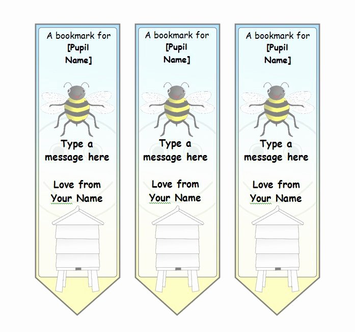 40 Free Printable Bookmark Templates Free Template Downloads