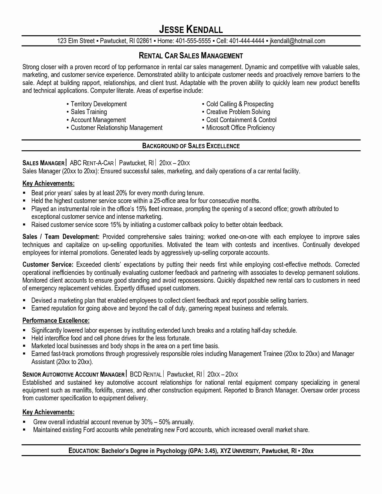 40 Good Car Salesman Resume Example Qm I – Resume