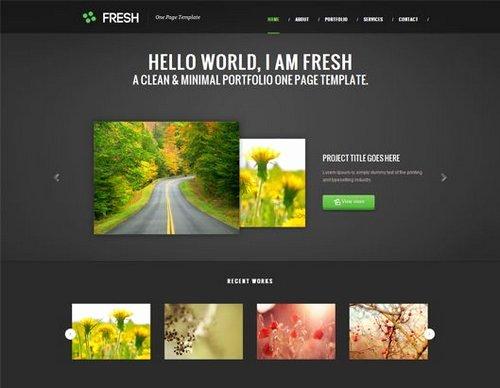 40 great free portfolio designs css