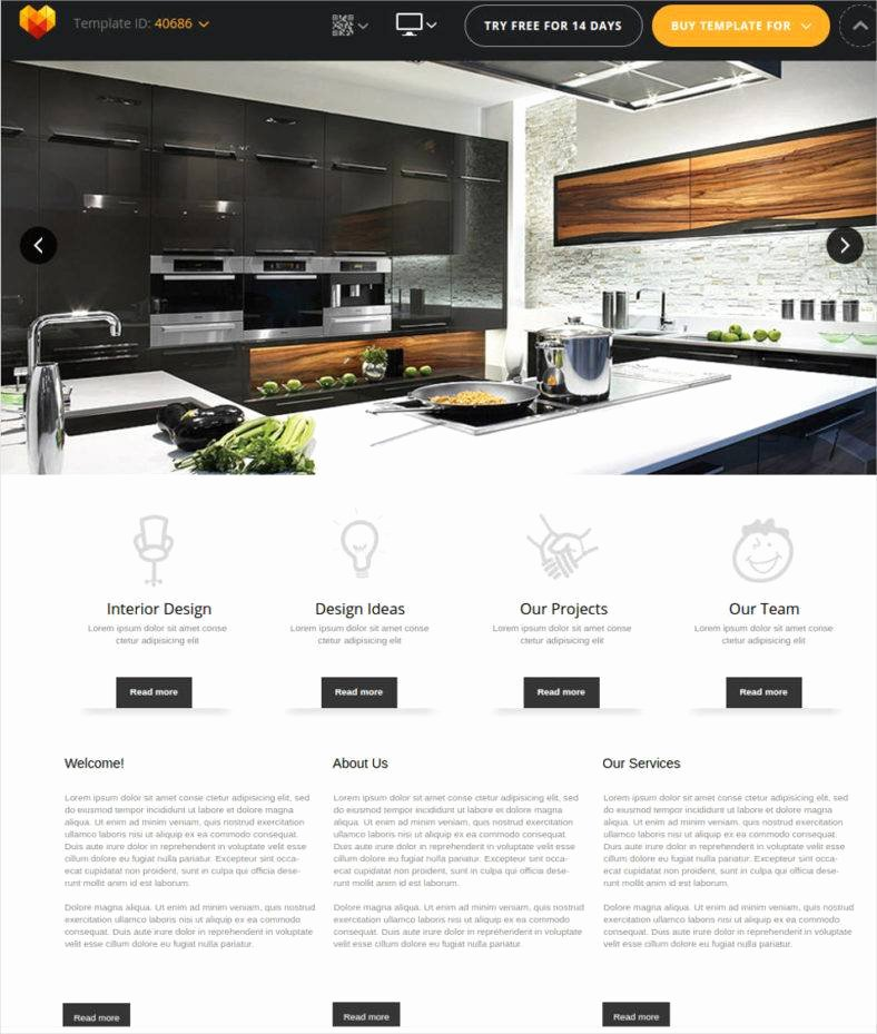 40 Interior Design Website Templates