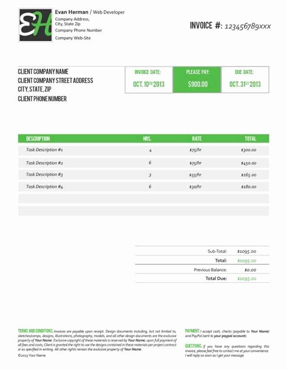 40 Invoice Templates