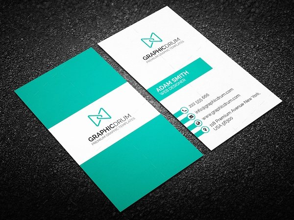 40 Latest Free Business Card Psd Templates