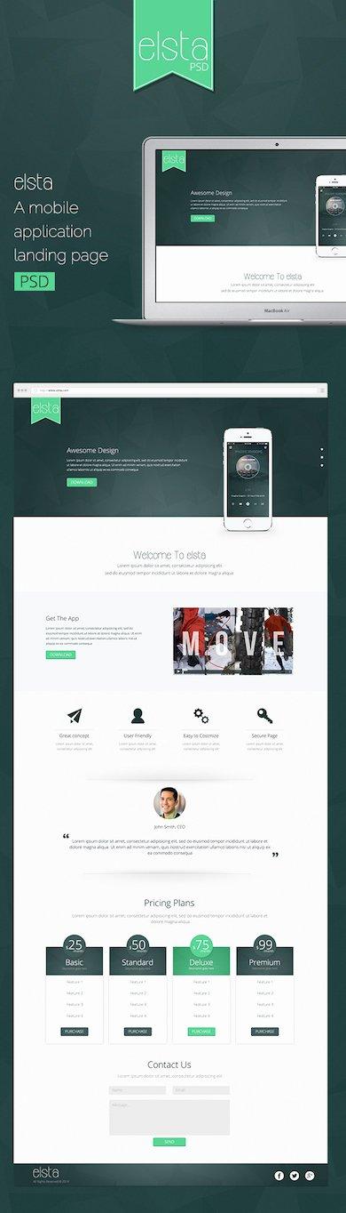 40 Latest Free Website Psd Templates – Neo Design