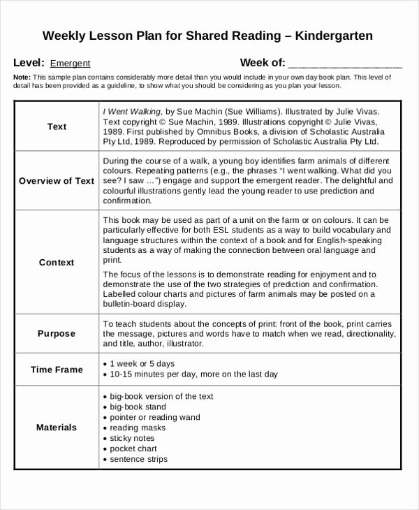 40 Lesson Plan Templates