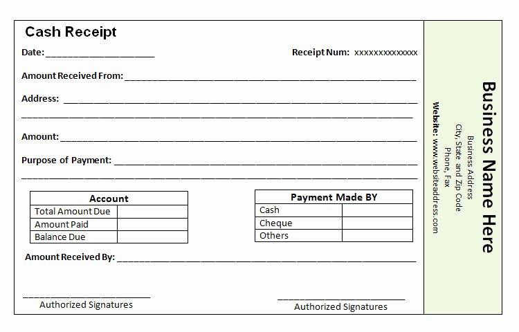 40 Payment Receipt Templates Doc Pdf