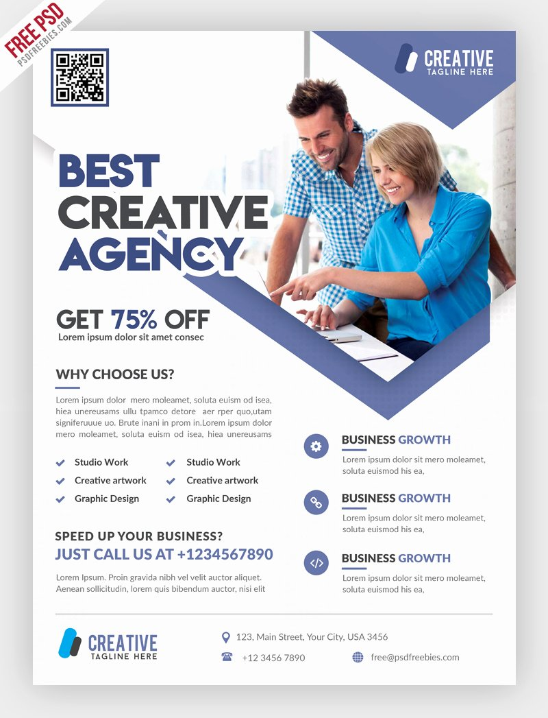 40 Premium and Free Marketing Flyer Psd Templates for