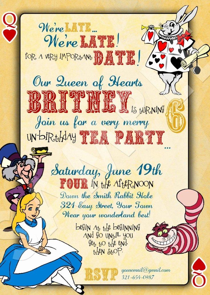 40th Birthday Ideas Alice In Wonderland Birthday