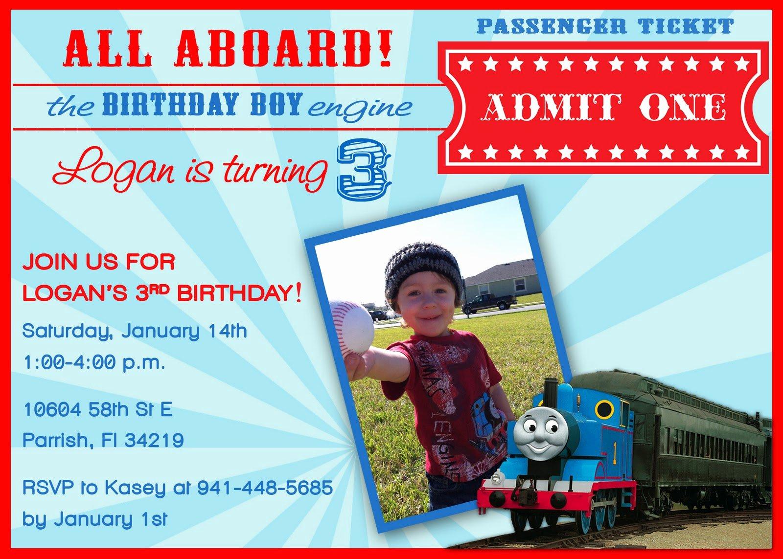 40th Birthday Ideas Free Thomas and Friends Birthday