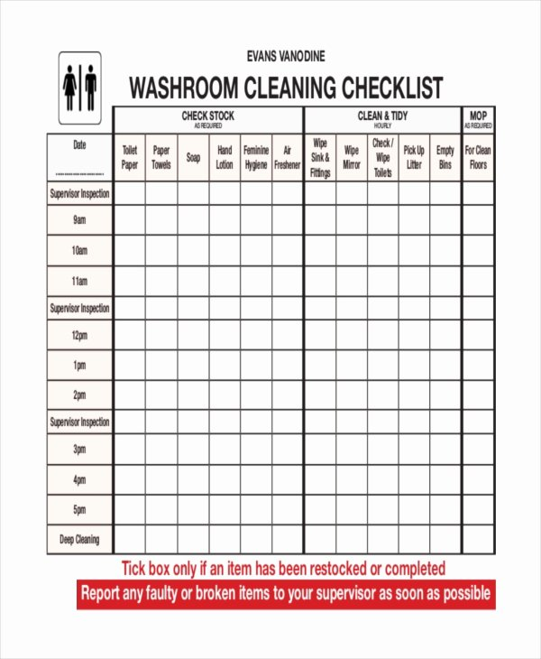 41 Checklist Templates