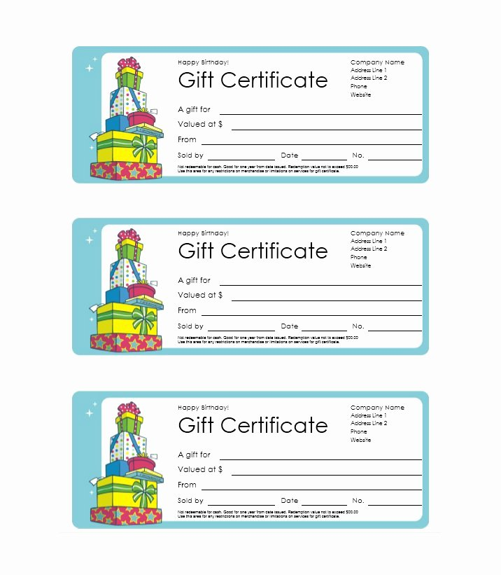 41 Free Gift Certificate Templates Free Template Downloads