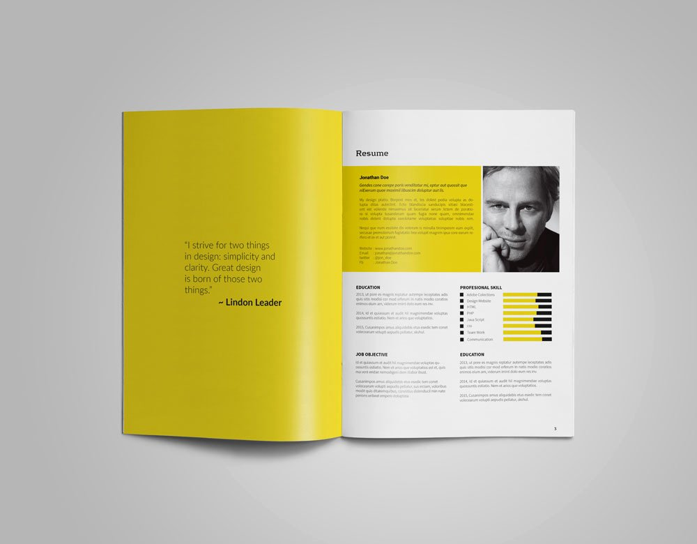 41 Free Indesign Portfolio Template Pdf Graphic Design