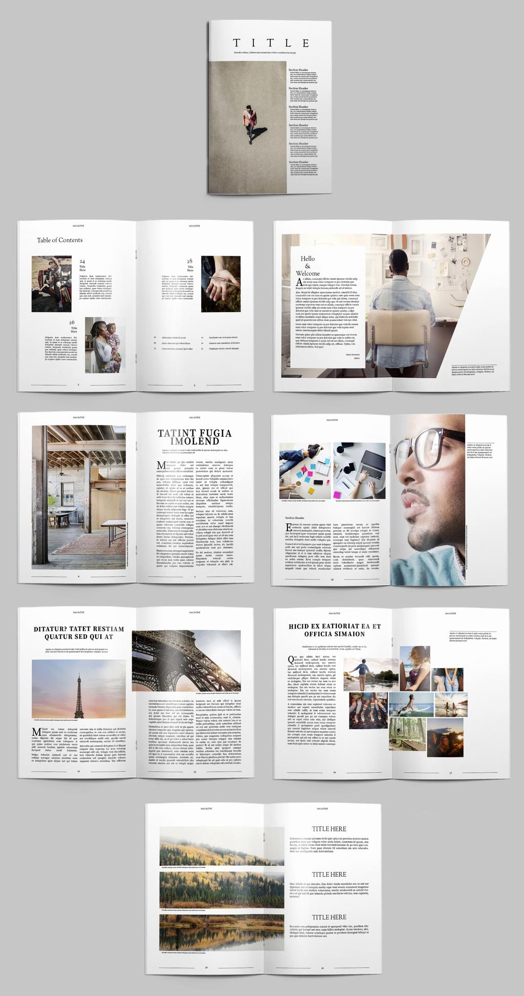 41 Free Indesign Portfolio Template Pdf Graphic Design