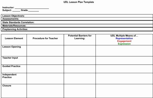 41 Free Lesson Plan Templates In Word Excel Pdf