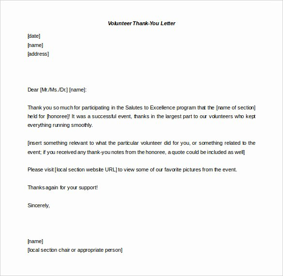 41 Free Thank You Letter Templates Doc Pdf