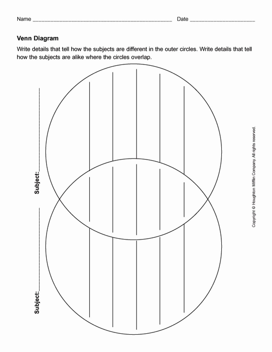 41 Free Venn Diagram Templates Word Pdf Free Template