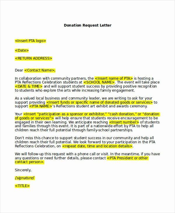 41 Request Letter Templates Pdf Doc