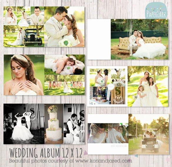 41 Wedding Album Templates Psd Vector Eps