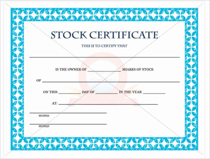 42 Stock Certificate Templates Free Word Pdf Excel formats