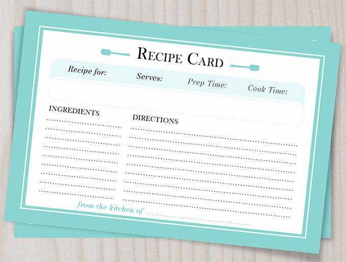 43 Amazing Blank Recipe Templates for Enterprising Chefs