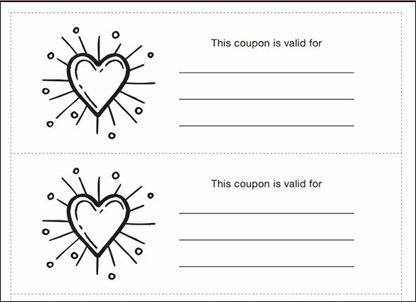 43 Printable Coupon Design Templates to Download