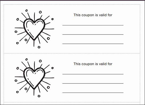 43 Printable Coupon Design Templates to Download