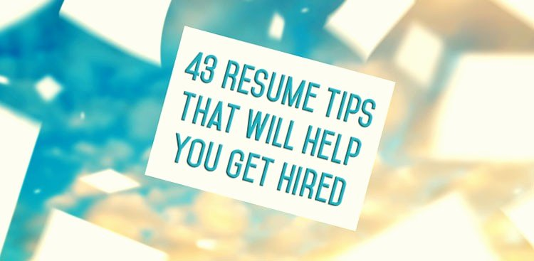 43 Resume Tips How to Write A Resume the Muse