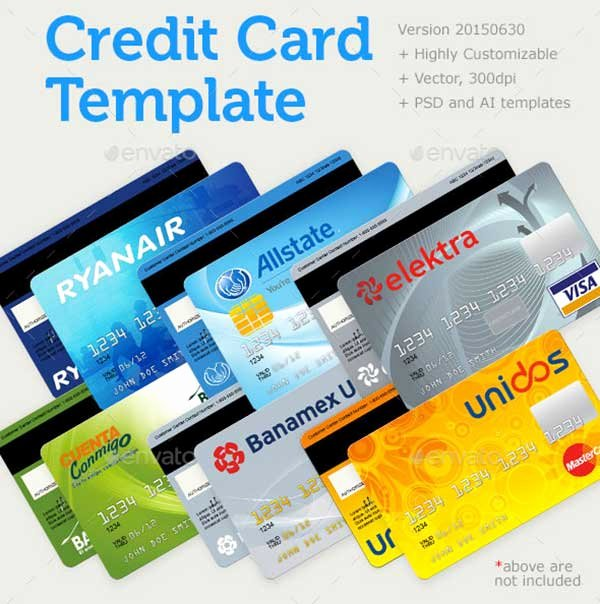 44 Best Free Credit Card Mockup Psd Templates