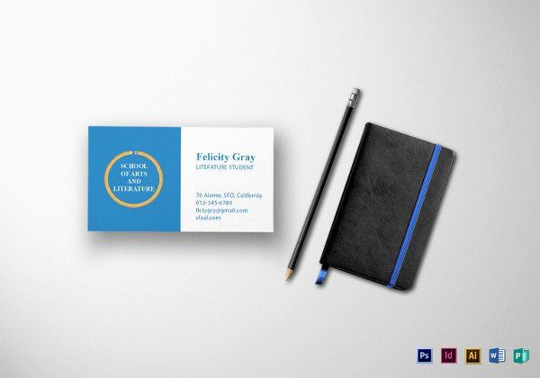 44 Free Blank Business Card Templates Ai Word Psd