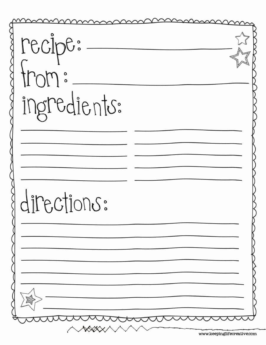 44 Perfect Cookbook Templates [ Recipe Book & Recipe Cards]