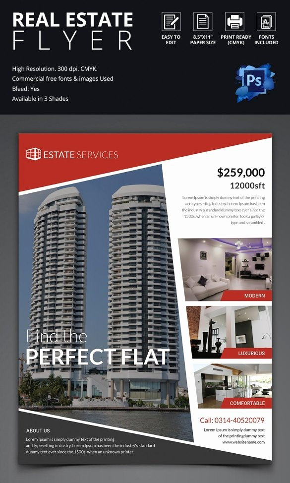 44 Psd Real Estate Marketing Flyer Templates