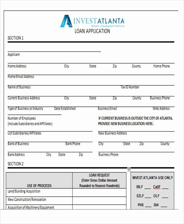 44 Sample Application form Templates