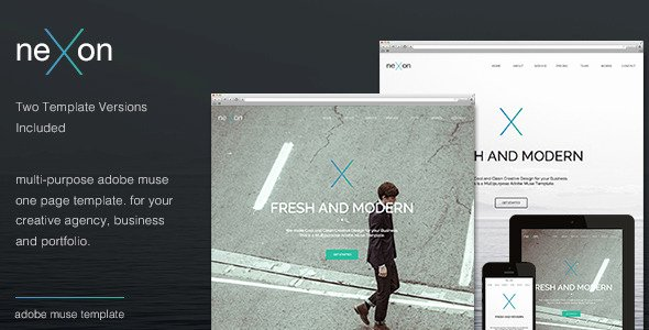 45 Best Adobe Muse Templates Free & Premium Download