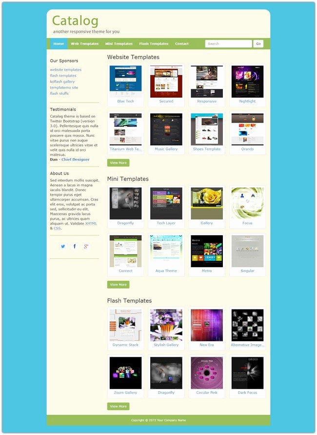 45 Best Free Dreamweaver Templates