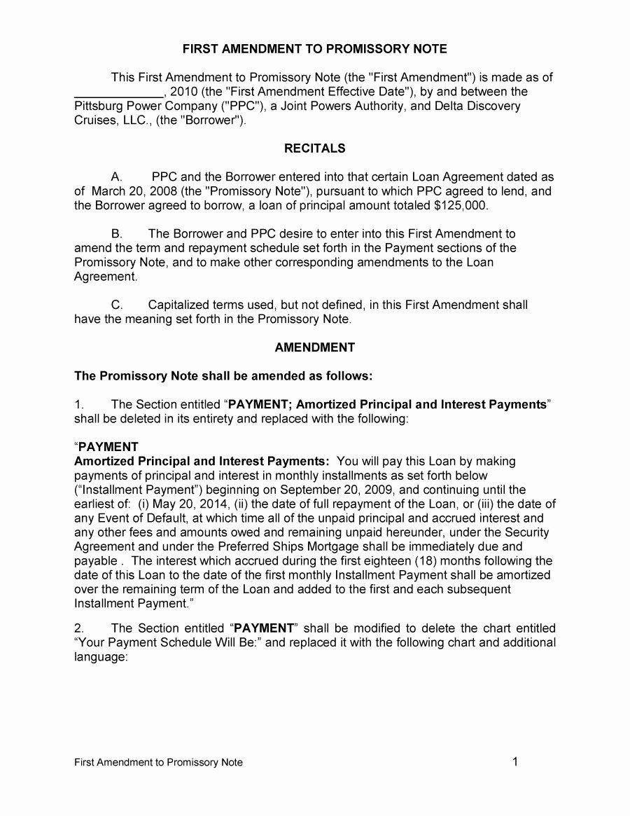 45 Free Promissory Note Templates & forms [word & Pdf
