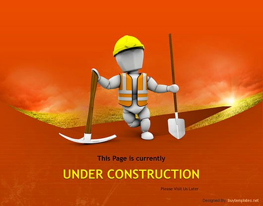 45 Impressive Examples Of Under Construction Templates