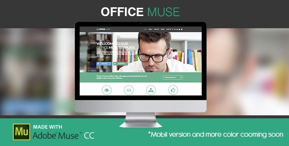 45 Responsive Adobe Muse Corporate Templates