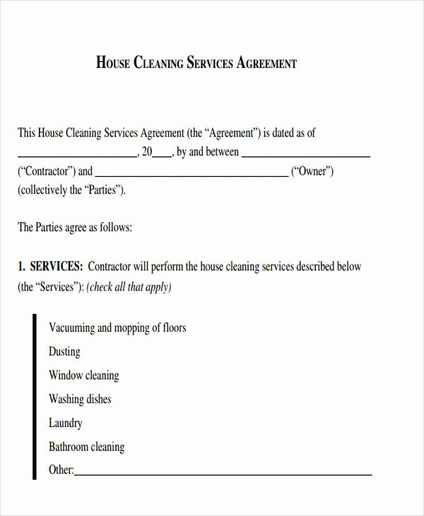 45 Sample Contract Templates