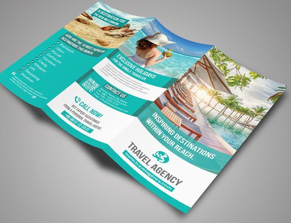 45 Travel Brochure Templates Psd Ai