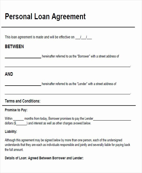 46 Agreement form Sample