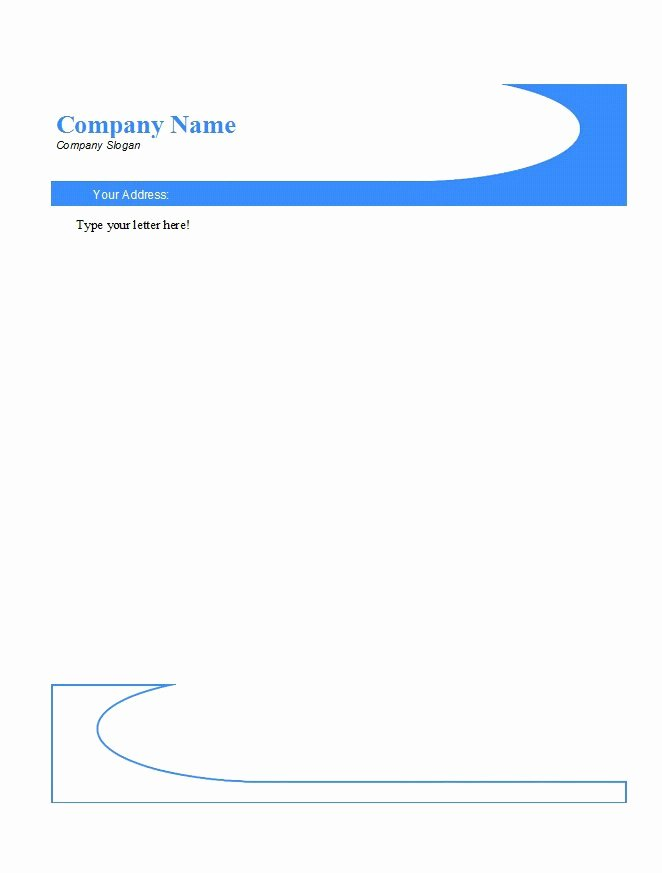 46 Free Letterhead Templates & Examples Free Template