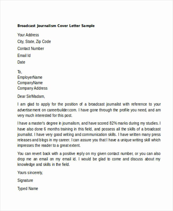 46 Generic Cover Letters for All Types Of Jobs and What