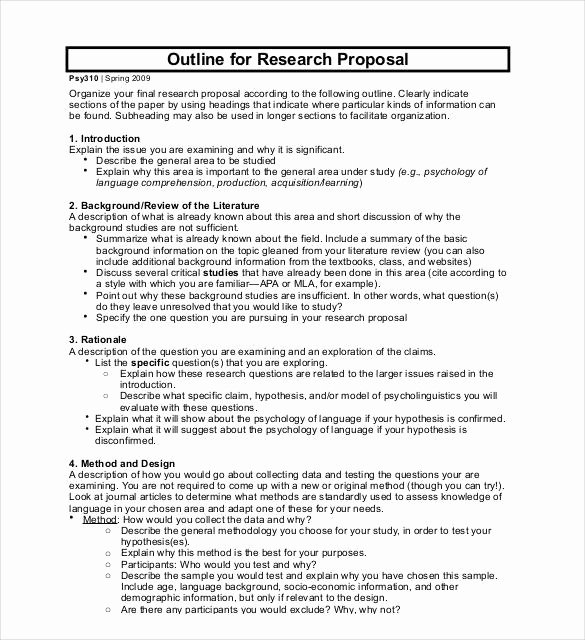 46 Project Proposal Templates Doc Pdf